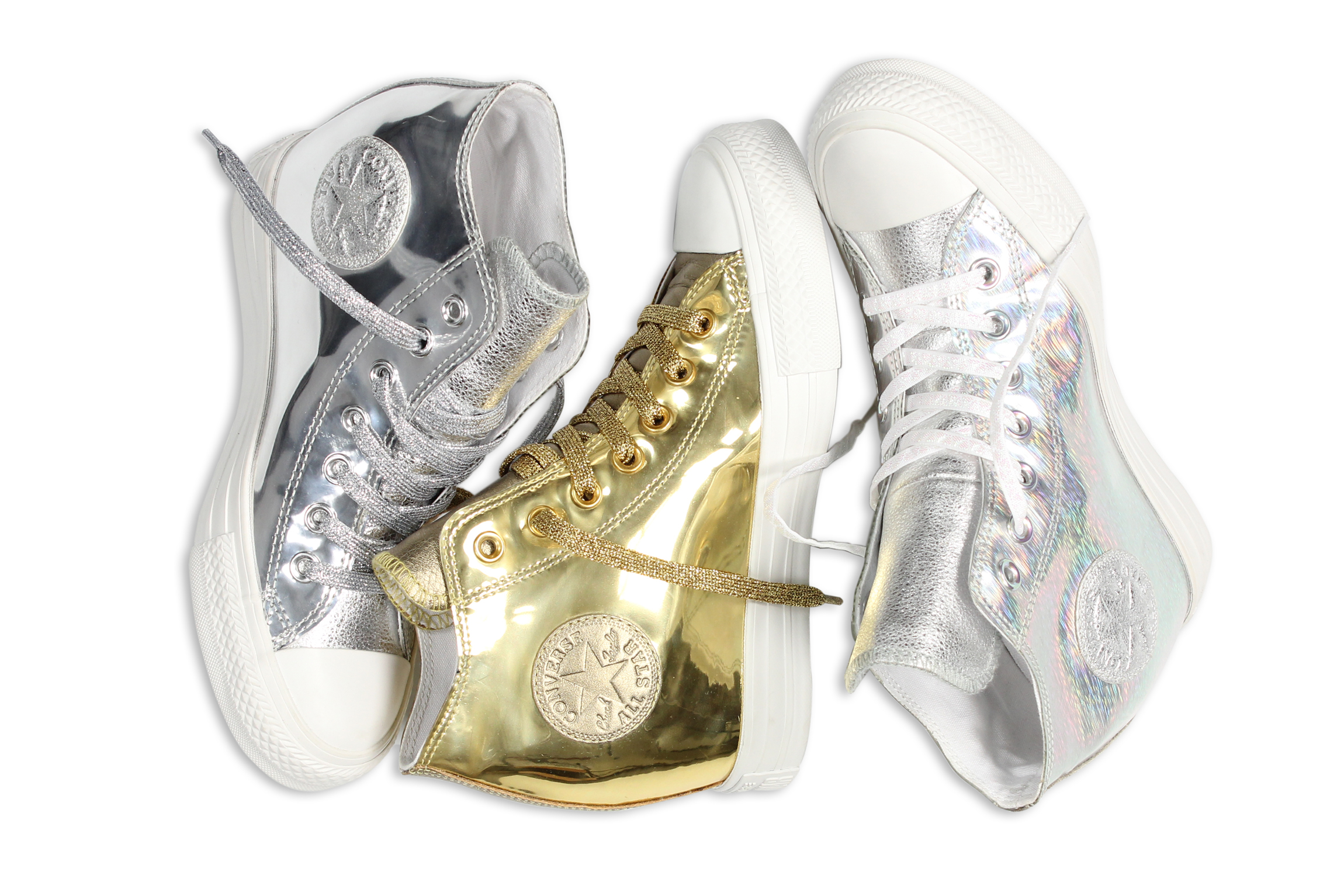 Converse Chuck Taylor All Star Metallic Lux Collection