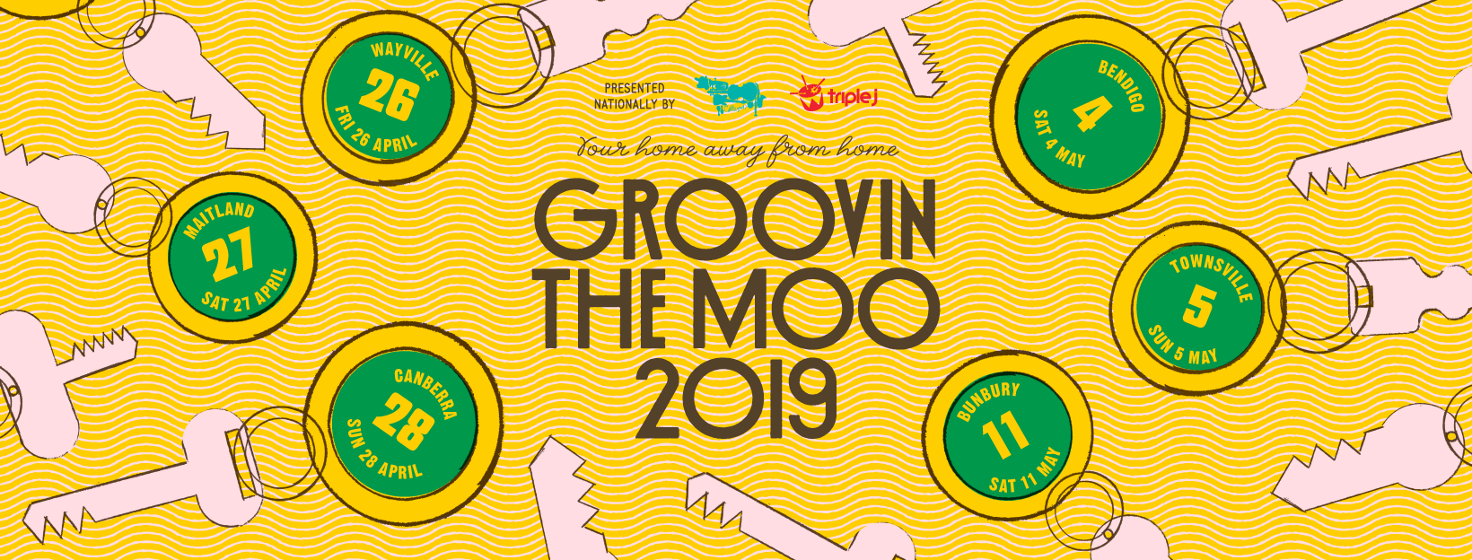 Time To Check-In to Groovin The Moo 2019, Your Home Away