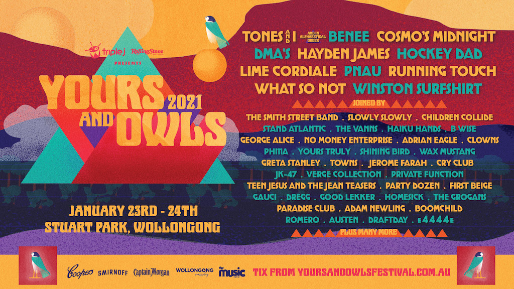 YOURS & OWLS FESTIVAL 2021 LINE UP IS HERE! - SCENEZINE